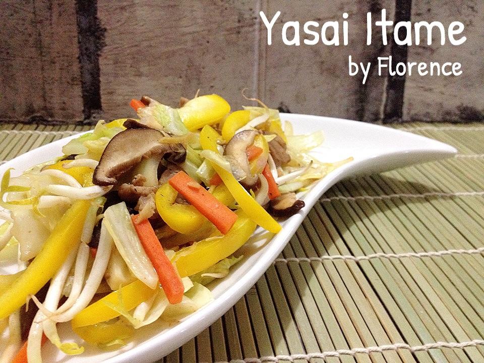 Tumis Sayur Yasai Itame Florence S Home Cooking