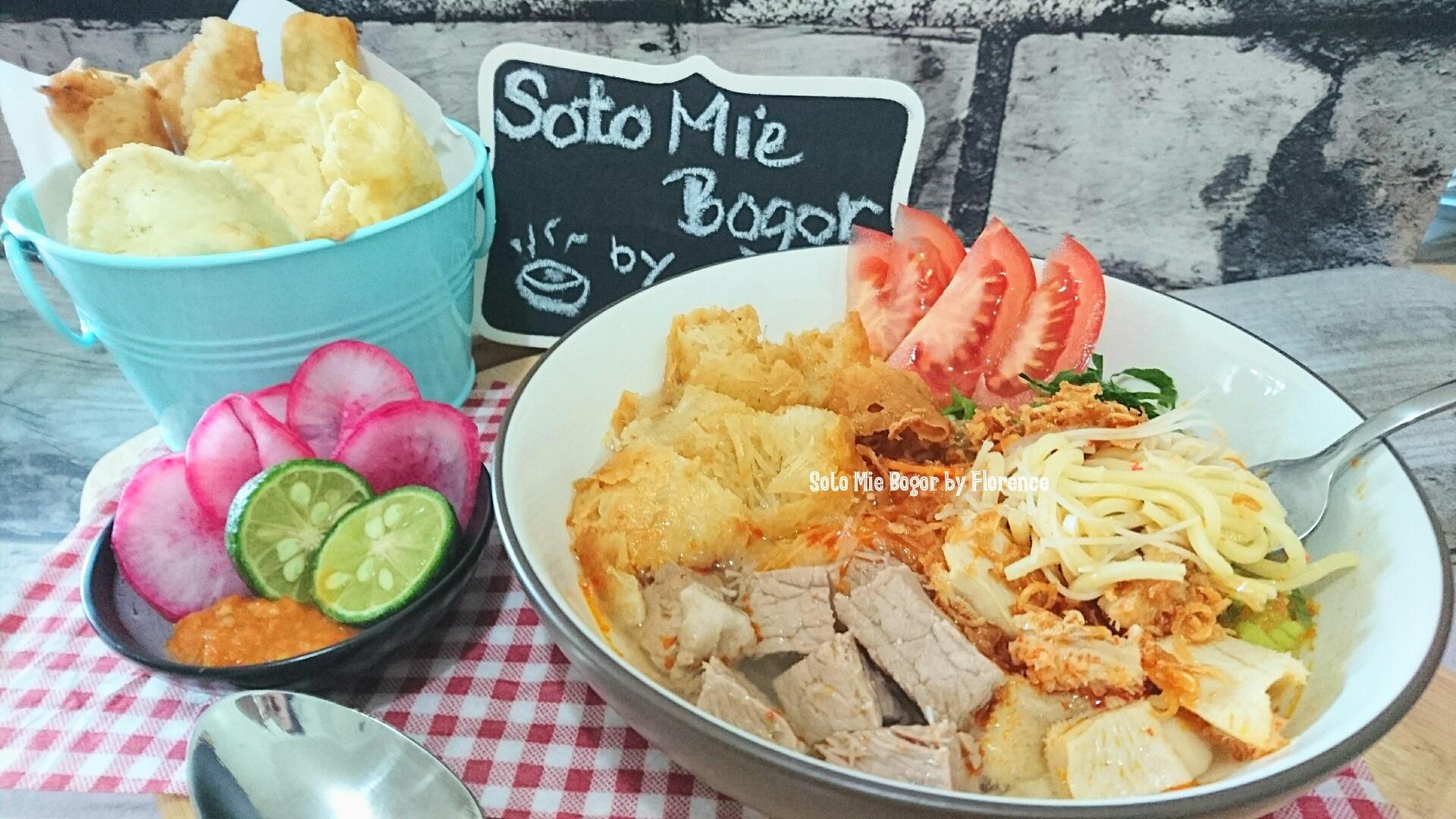 Soto Mie Bogor Bogors Noodle Soup Florences Home Cooking Adalah Makanan Khas Dr Kota Jawa Barat Rasanya Nikmat Original Food From City West Java Taste So Good