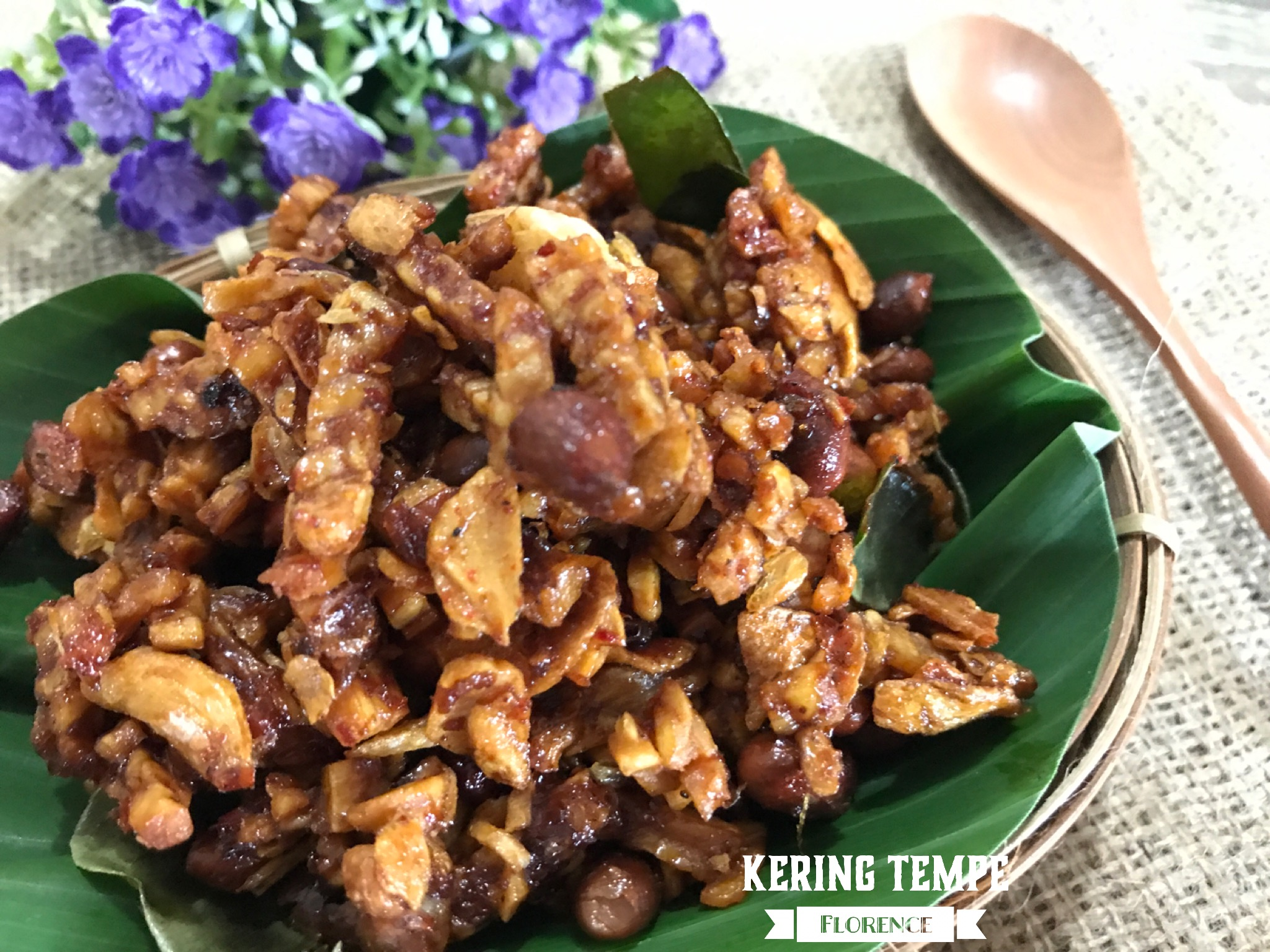 Condiment Page 2 Florences Home Cooking Manisan Terong Ungu Kering Tempe