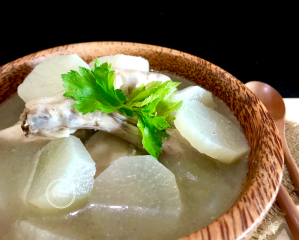 Chicken & Radish Soup